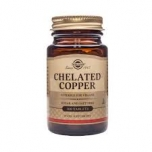 Vaskdiglütsinaat Chelated Copper 2.5 mg Solgar 100 tabl