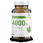 D3 vitamiin kanepiseemnejahuga 4000IU 90 kapslit
