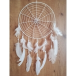 Handmade dream catcher with fluorite 30cm
