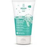 Weleda laste šampoon-dušikreem Rohemünt 150ml