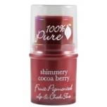 Taimsete pigmentidega huule- ja põsepulk Shimmery Cocoa Berry 7,5g
