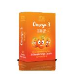 Omega 3 Oranges 30 närimiskapslit