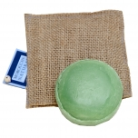 Vetiver (Ramacham) Soap with Natural Jute Mitt 100g